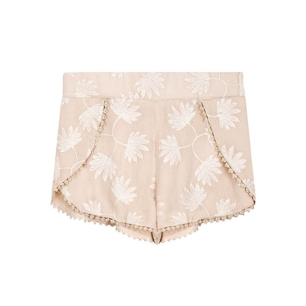 Azur Shorts - Nude