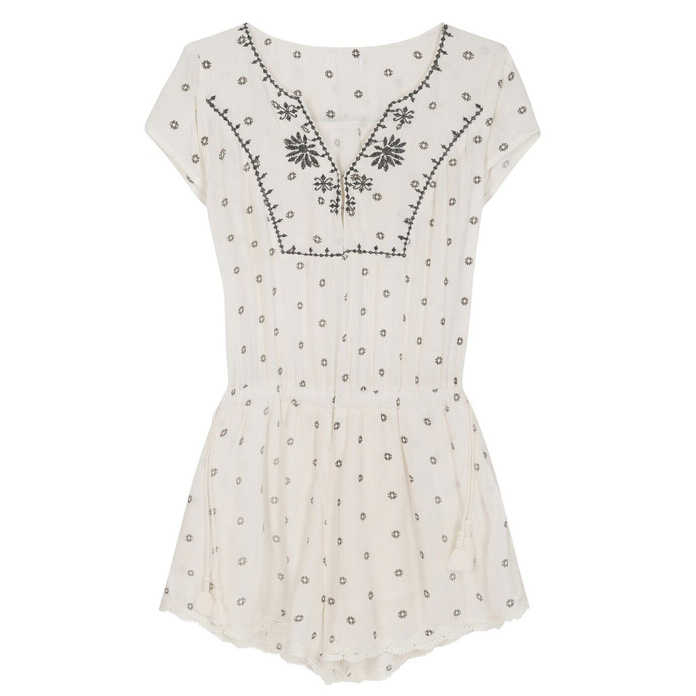 Milos Playsuit - White