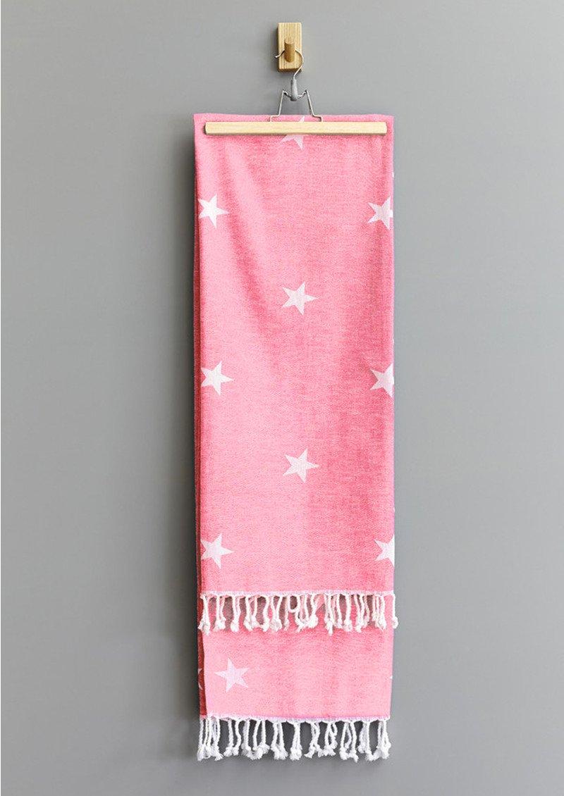 HAMMAMHAVLU Yildiz Star Towel - Pink main image