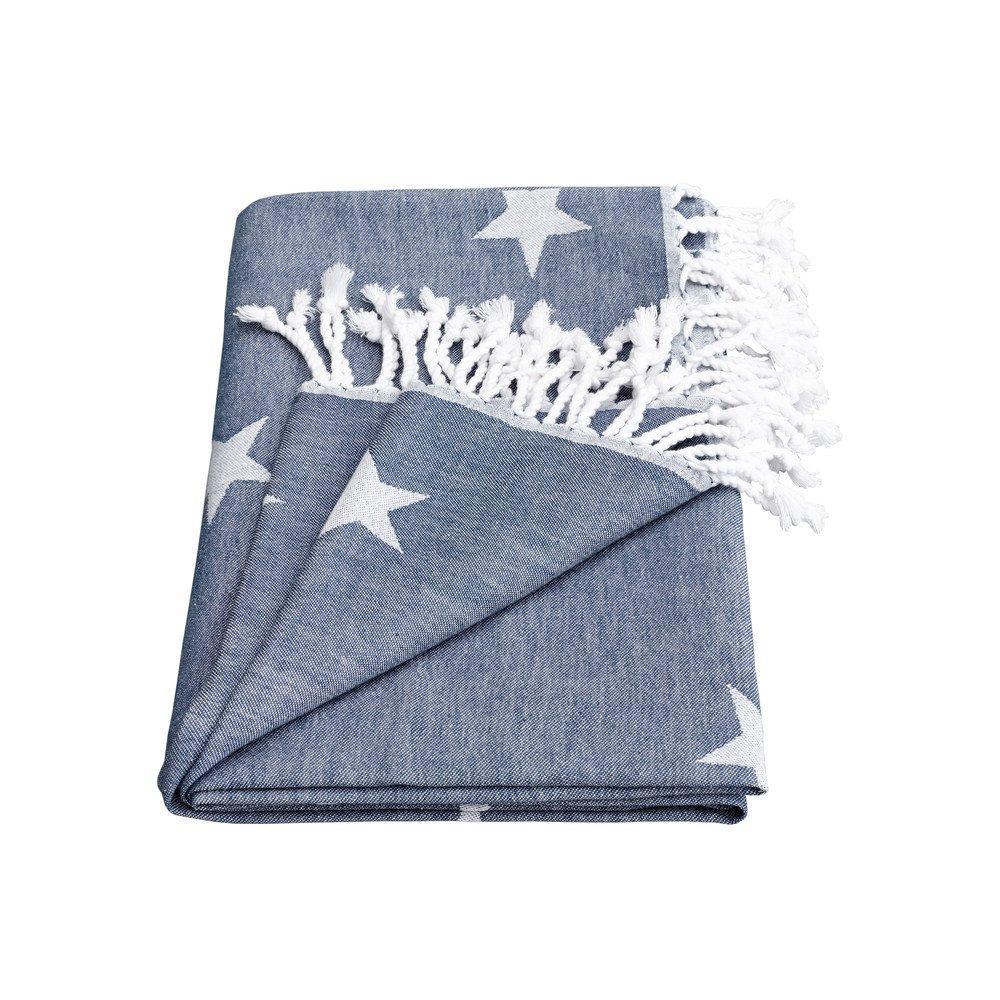 Yildiz Star Towel - Indigo