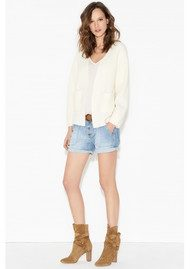 Ba&sh Mira Denim Shorts - Lightused
