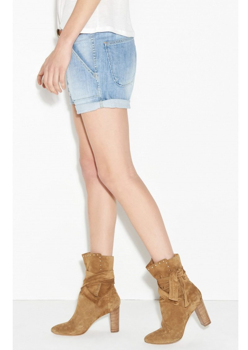 Ba&sh Mira Denim Shorts - Lightused main image