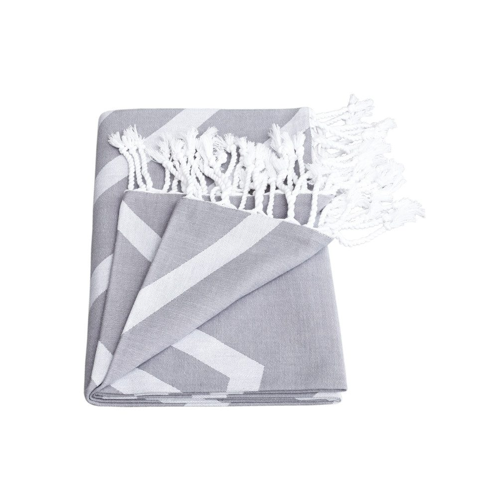 Alya Exploded Star Towel - Smoke Grey