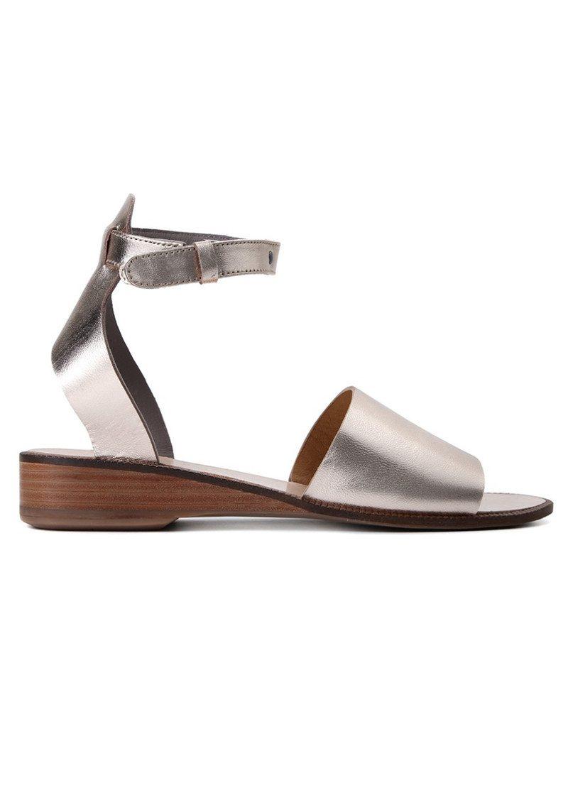 Hudson London Fifa Leather Sandal - Gold main image