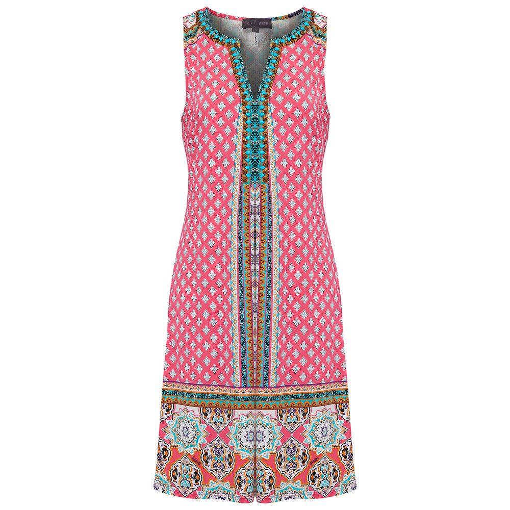 Giotta Beaded Dress - Fuschia
