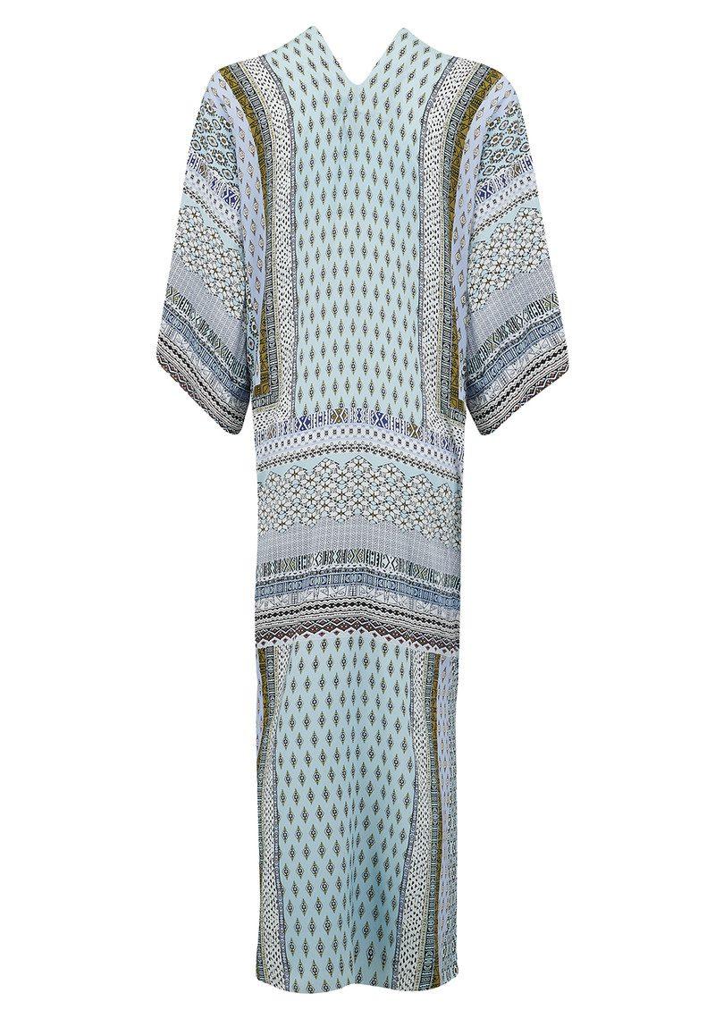 Hale Bob Nena Kimono Wrap Jacket - Light Blue main image