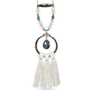 Tassel Necklace - Silver