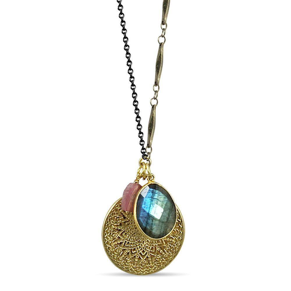 Mandala Jewelled Cluster - Gold