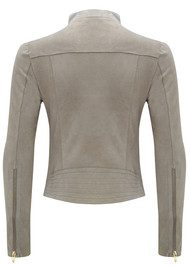 FAB BY DANIE Paris Suede Jacket - Taupe