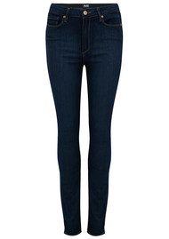 Paige Denim Margot Ultra Skinny High Rise Jeans - La Rue