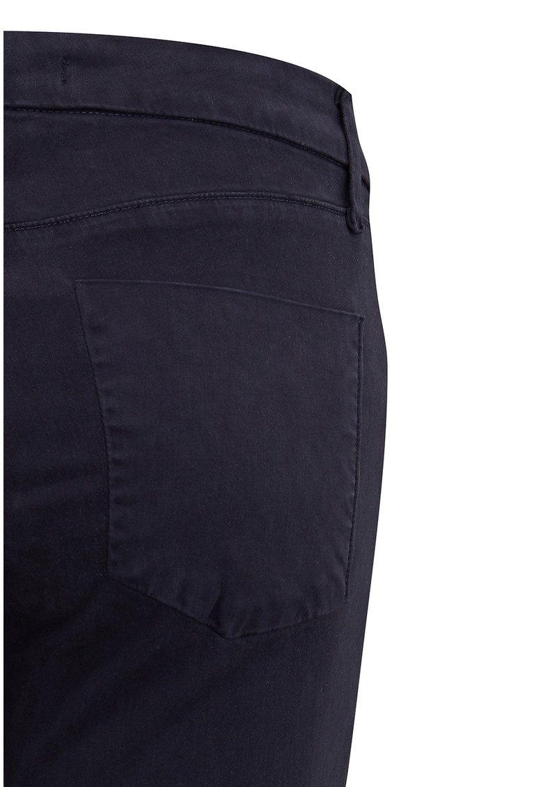 J Brand Anja Clean Cuffed Crop Jeans - Dark Navy main image