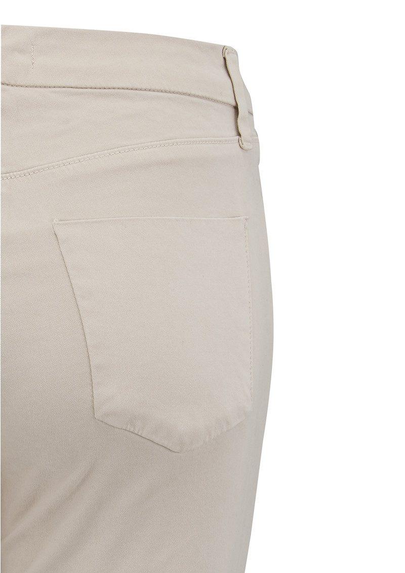 J Brand Anja Clean Cuffed Crop Jeans - Biscuit main image