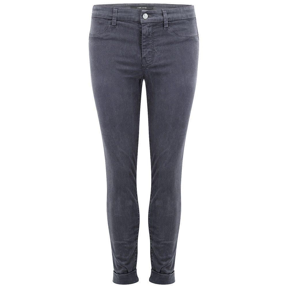 Anja Clean Cuffed Crop Jeans - Seaway