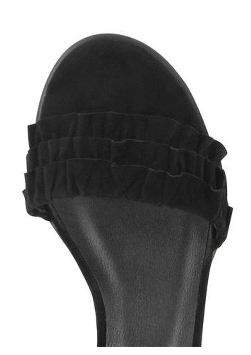 SENSO Juno Suede Block Heel - Ebony main image