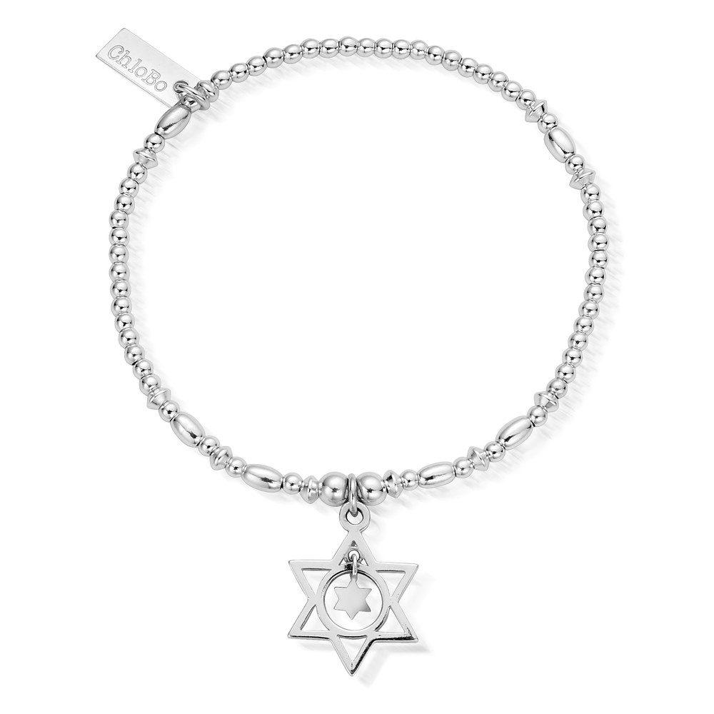 Star in Star Bracelet - Silver