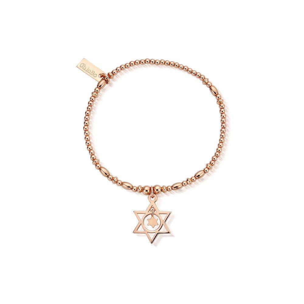 Star in Star Bracelet - Rose Gold