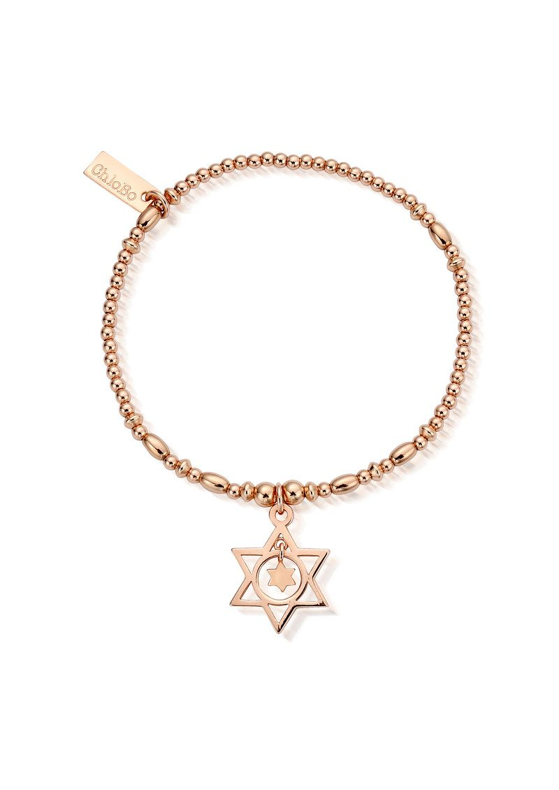ChloBo Star in Star Bracelet - Rose Gold main image
