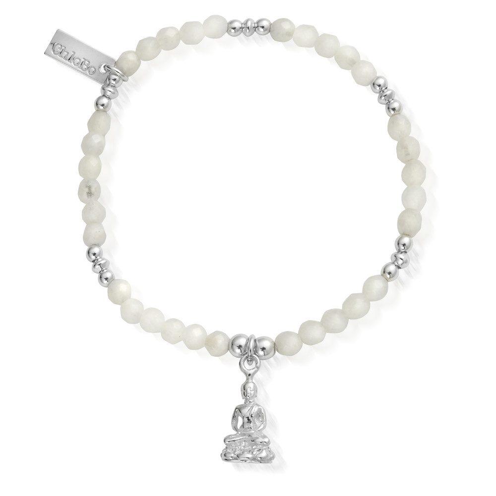 Sidartha Bracelet - Silver & White Moonstone
