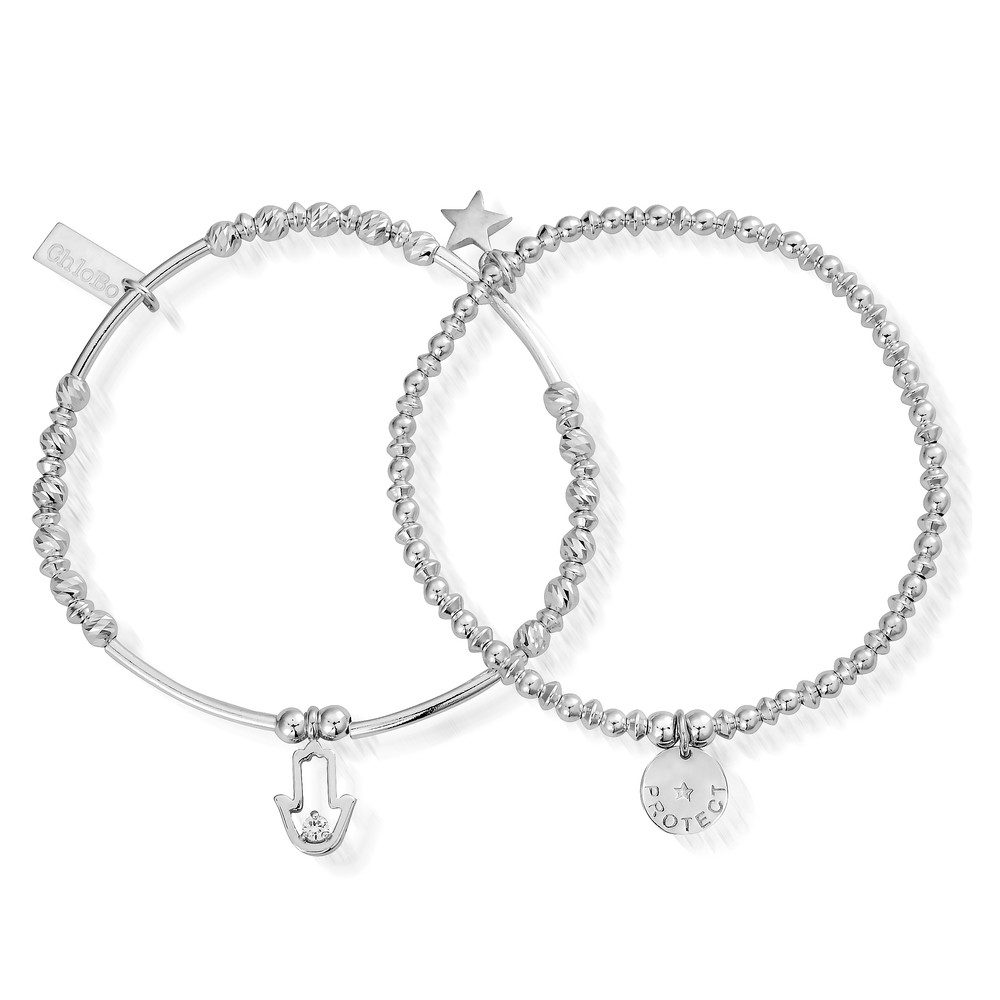 Protection Set of 2 Bracelets - Silver