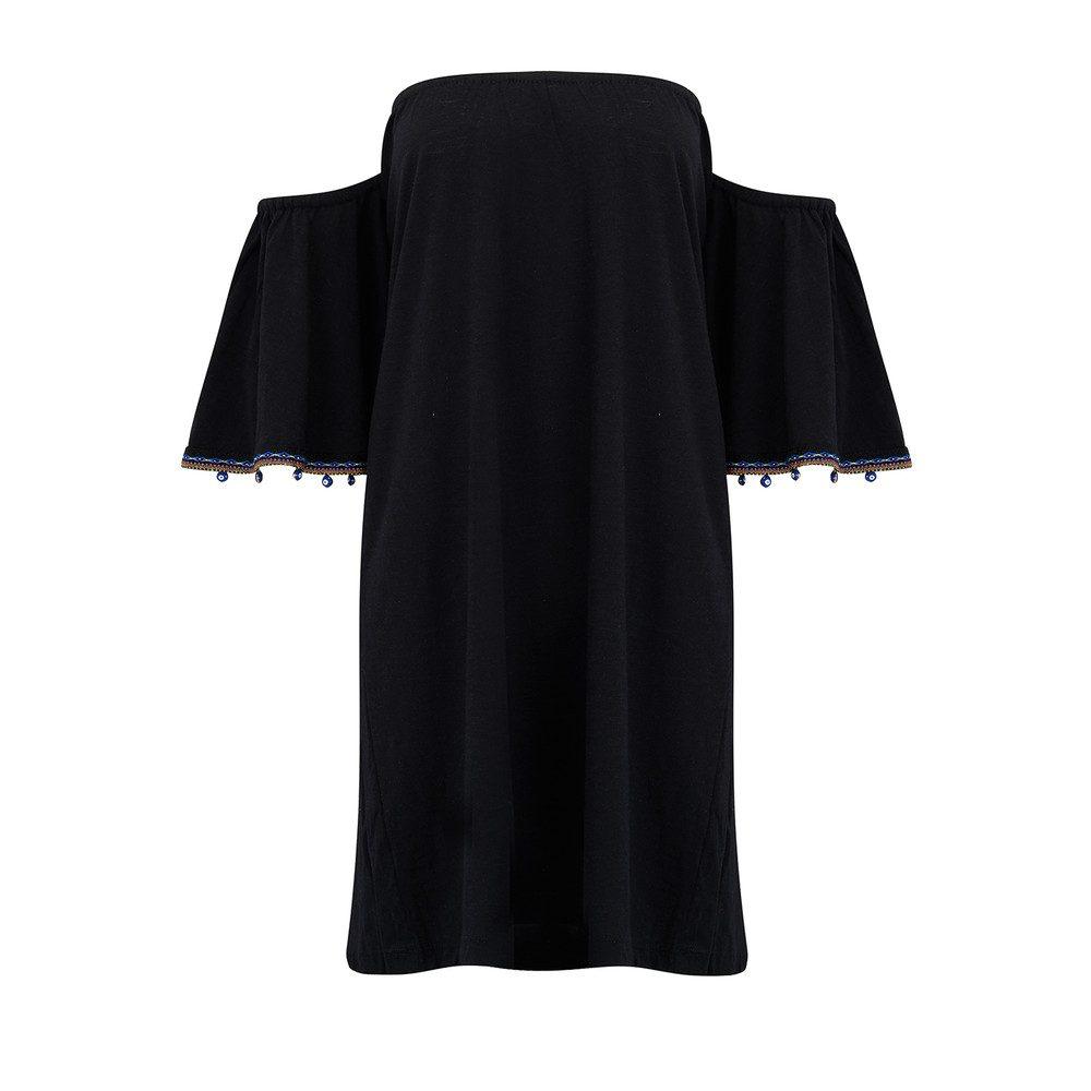 Salsa Mini Dress - Black