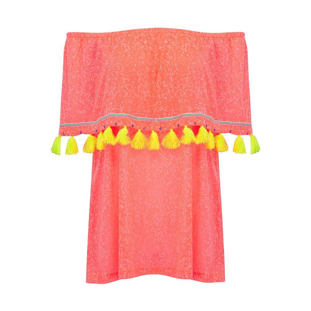 Ibiza Mini Dress - Watermelon