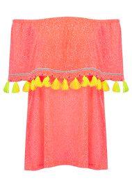PITUSA Ibiza Mini Dress - Watermelon
