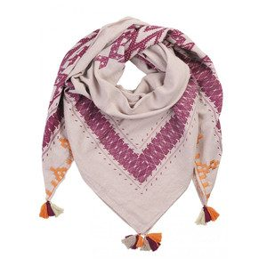 Aboyo Cotton Scarf - Beet Red