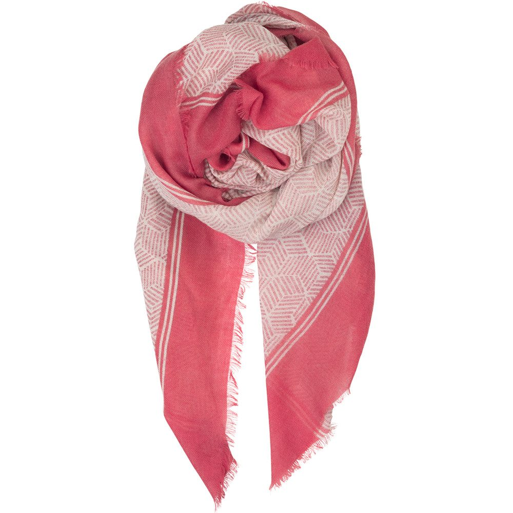 Montgrand Wool Mix Scarf - Calypso Coral