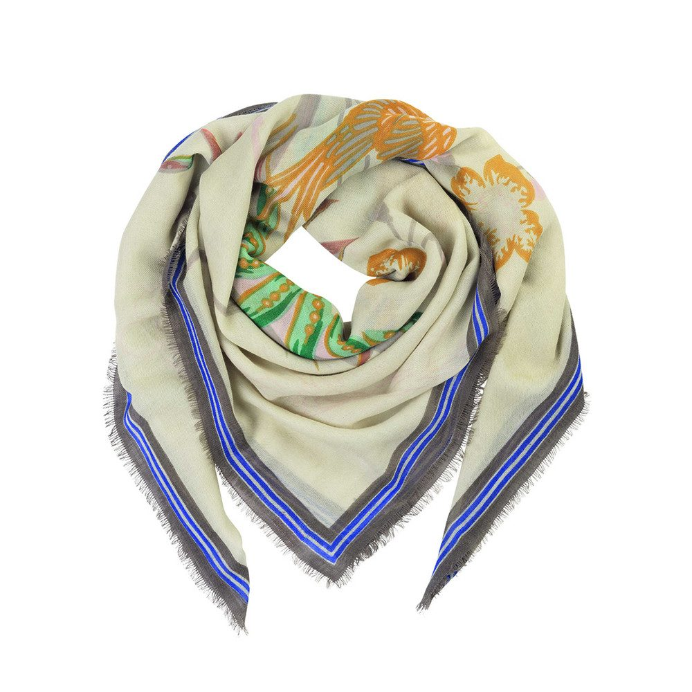 Dubois Wool Mix Scarf - Multi