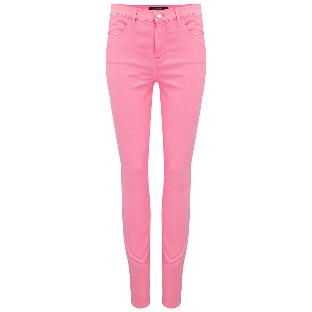 Maria High Rise Skinny Jeans -Guava