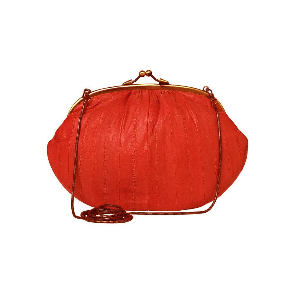 Granny Bag - Coral Red