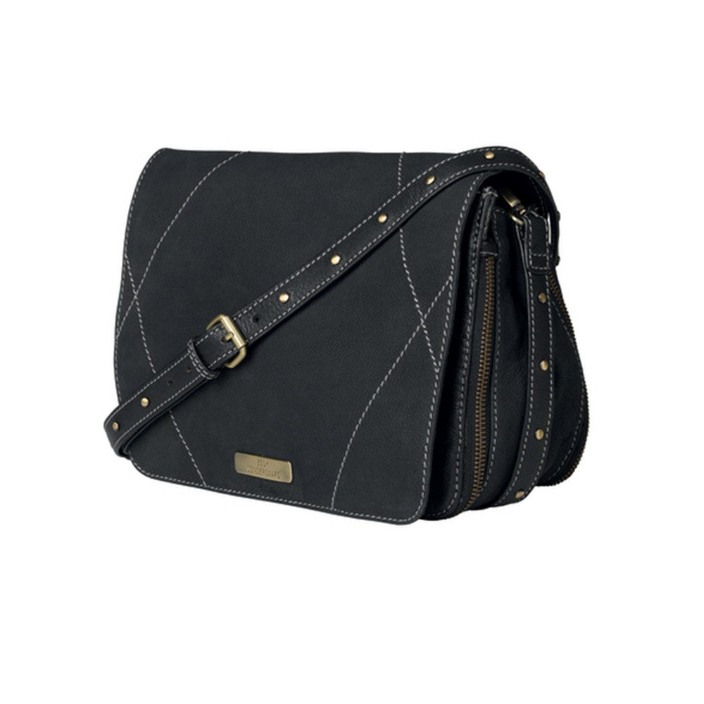 Cage Leather Bag - Black