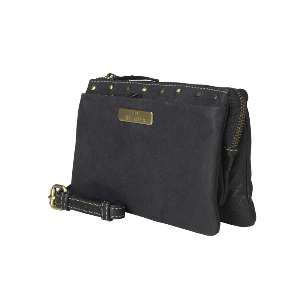 Cary Small Leather Bag - Black