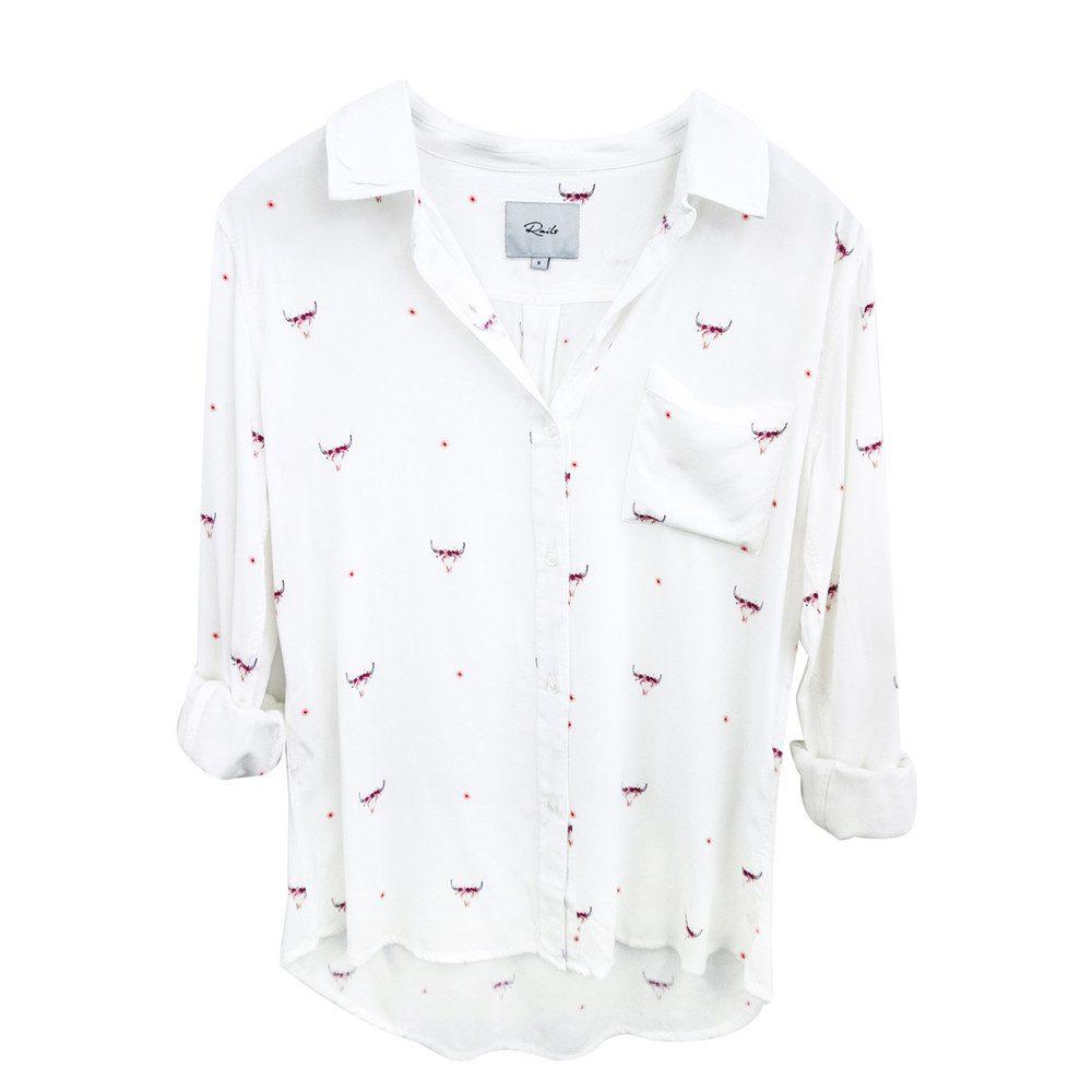 Rosci Shirt - Indigo Print