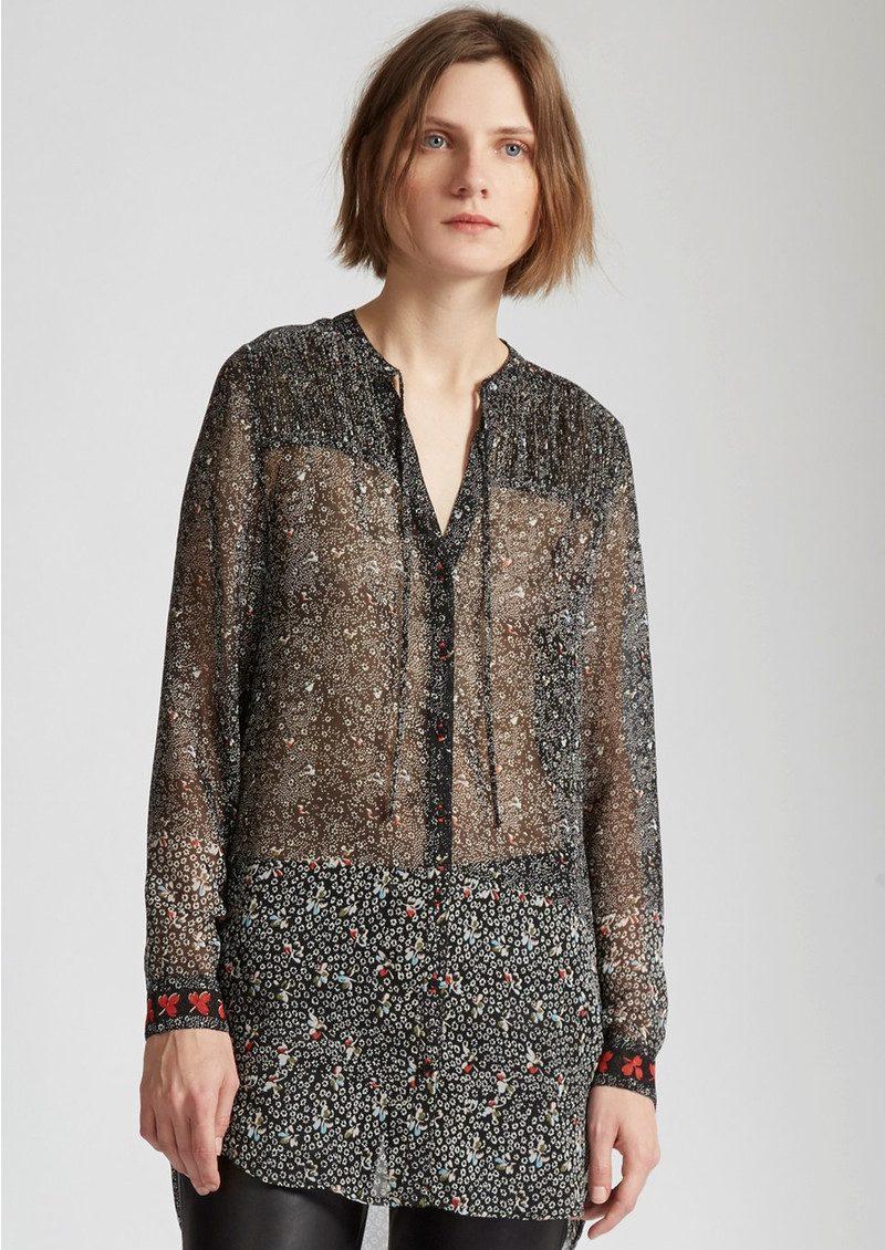 Great Plains Floral Printed Shirt - Black Combo main image