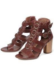 Hudson London Grenada Leather Sandal - Tan