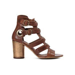 Grenada Leather Sandal - Tan