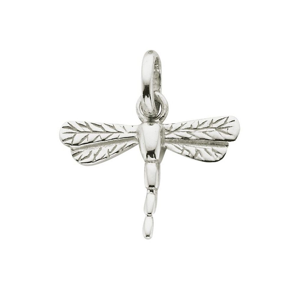 Bespoke Dragonfly Charm - Silver