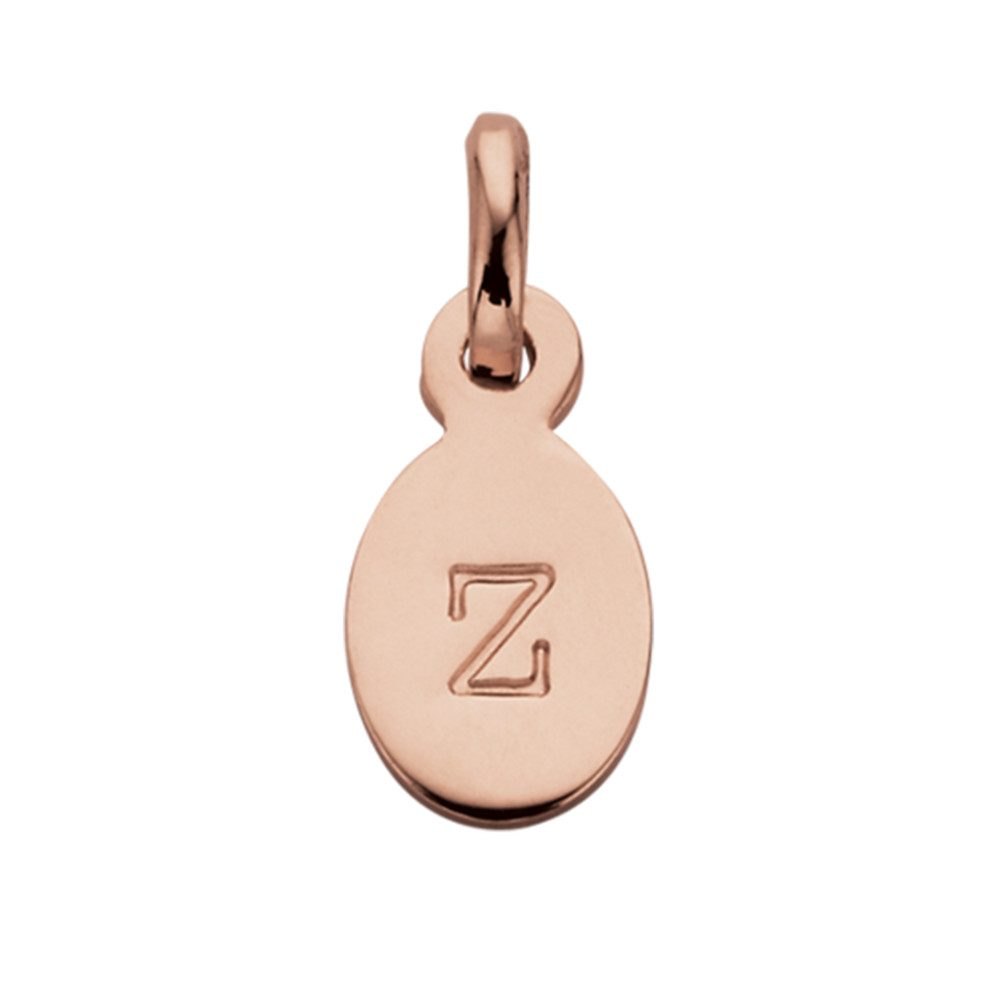 Bespoke Alphabet 'Z' Charm - Rose Gold