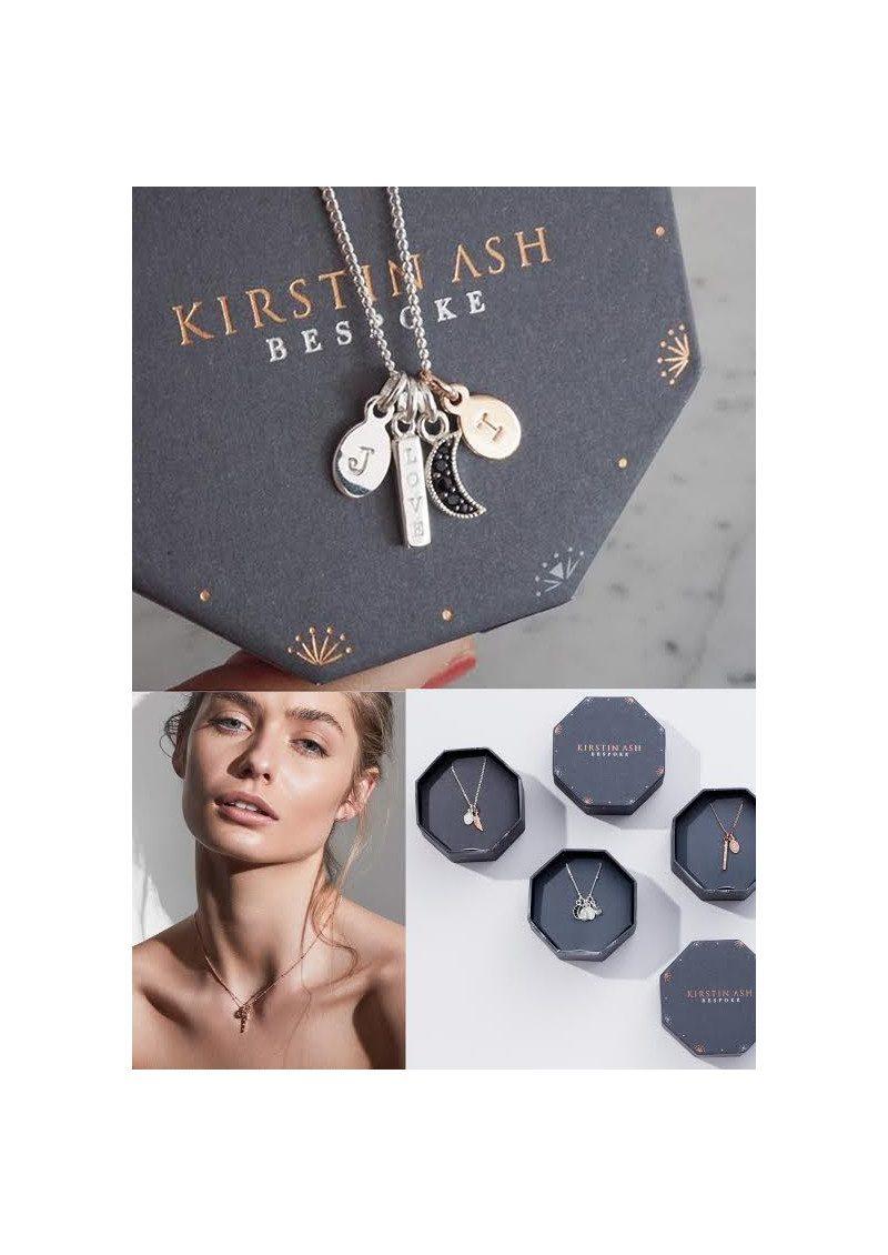 KIRSTIN ASH Bespoke Alphabet 'Z' Charm - Rose Gold main image