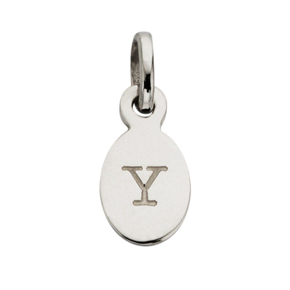 Bespoke Alphabet 'Y' Charm - Silver