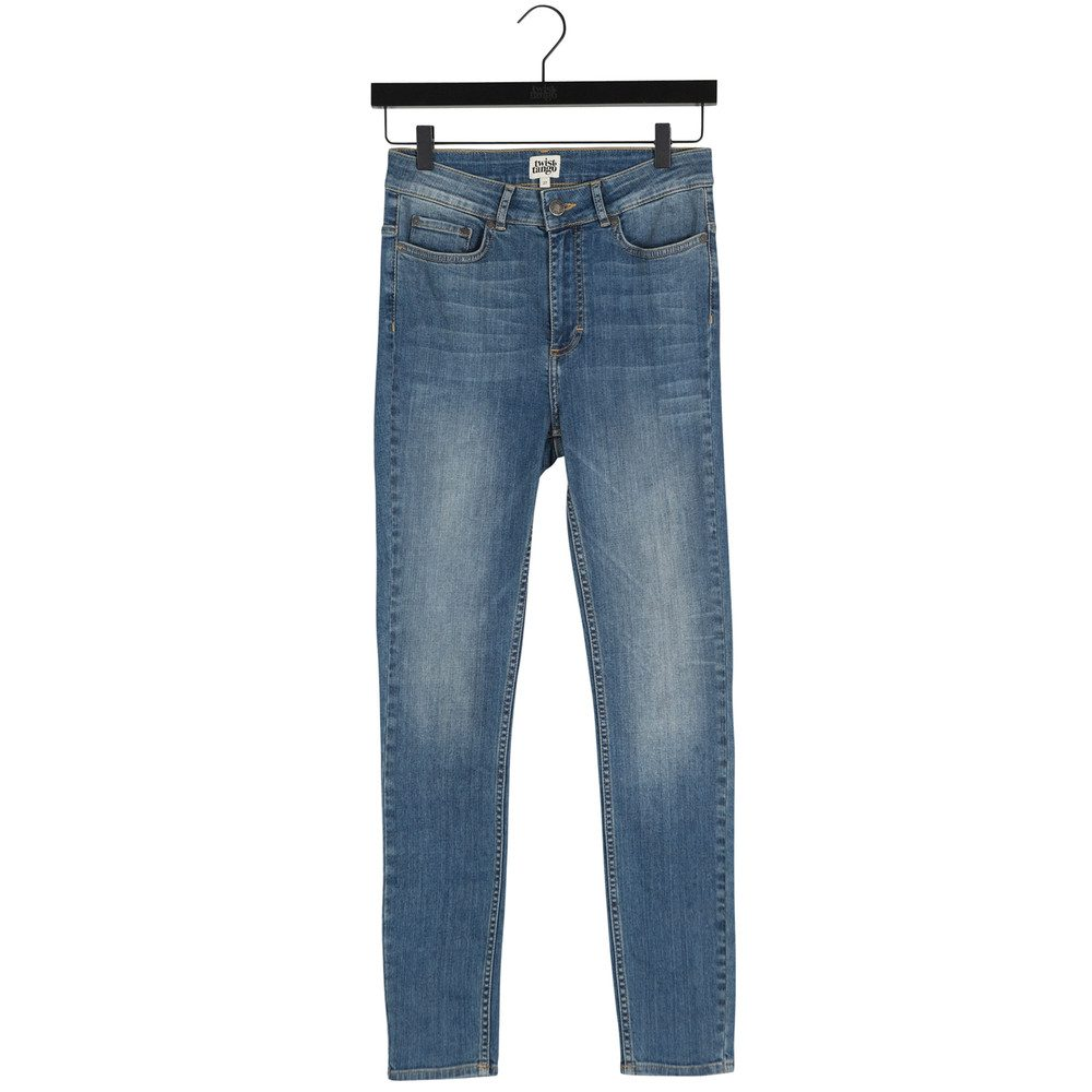 Julie Trousers - Mid Blue Denim