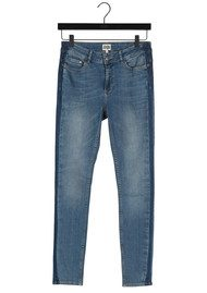 Twist and Tango Julia Ankle Jeans - Mid Blue