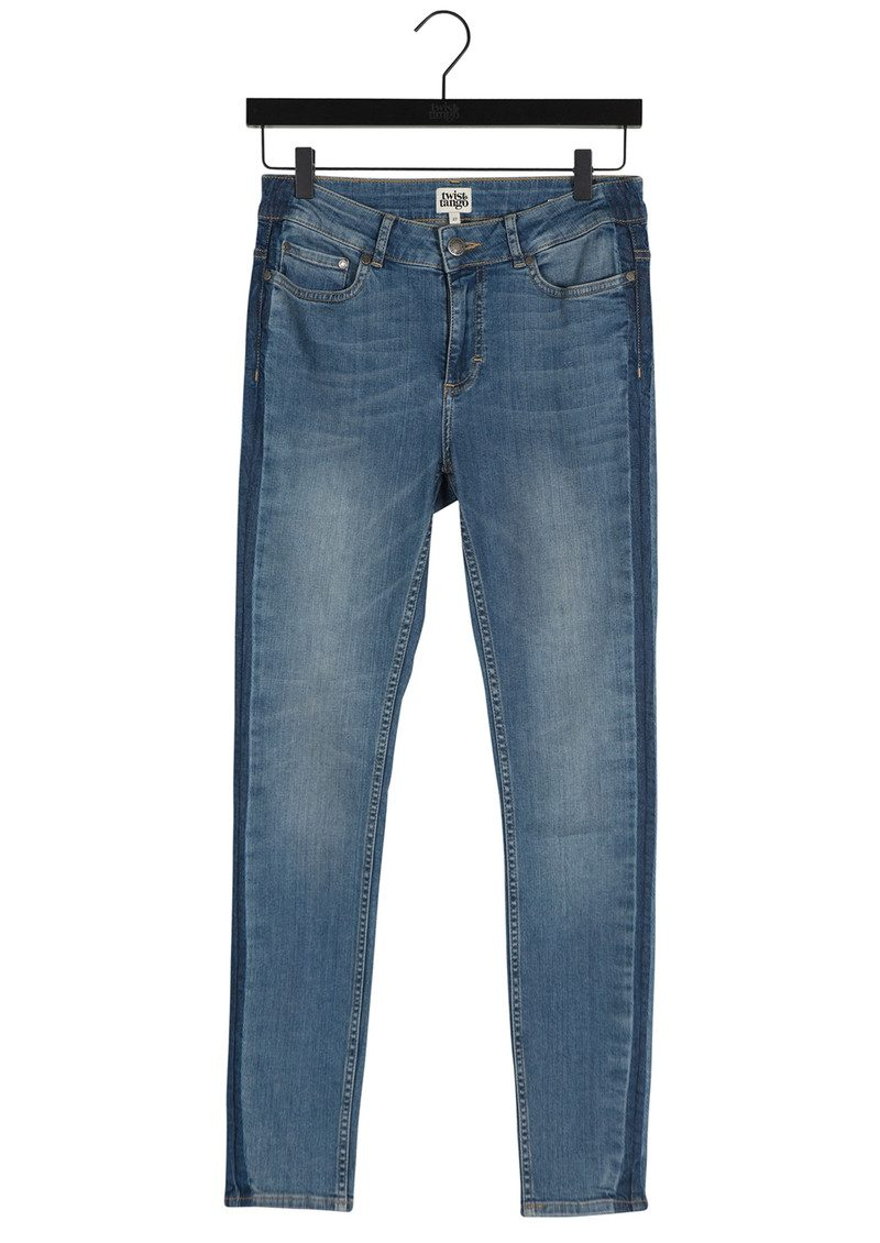 Twist and Tango Julia Ankle Jeans - Mid Blue main image