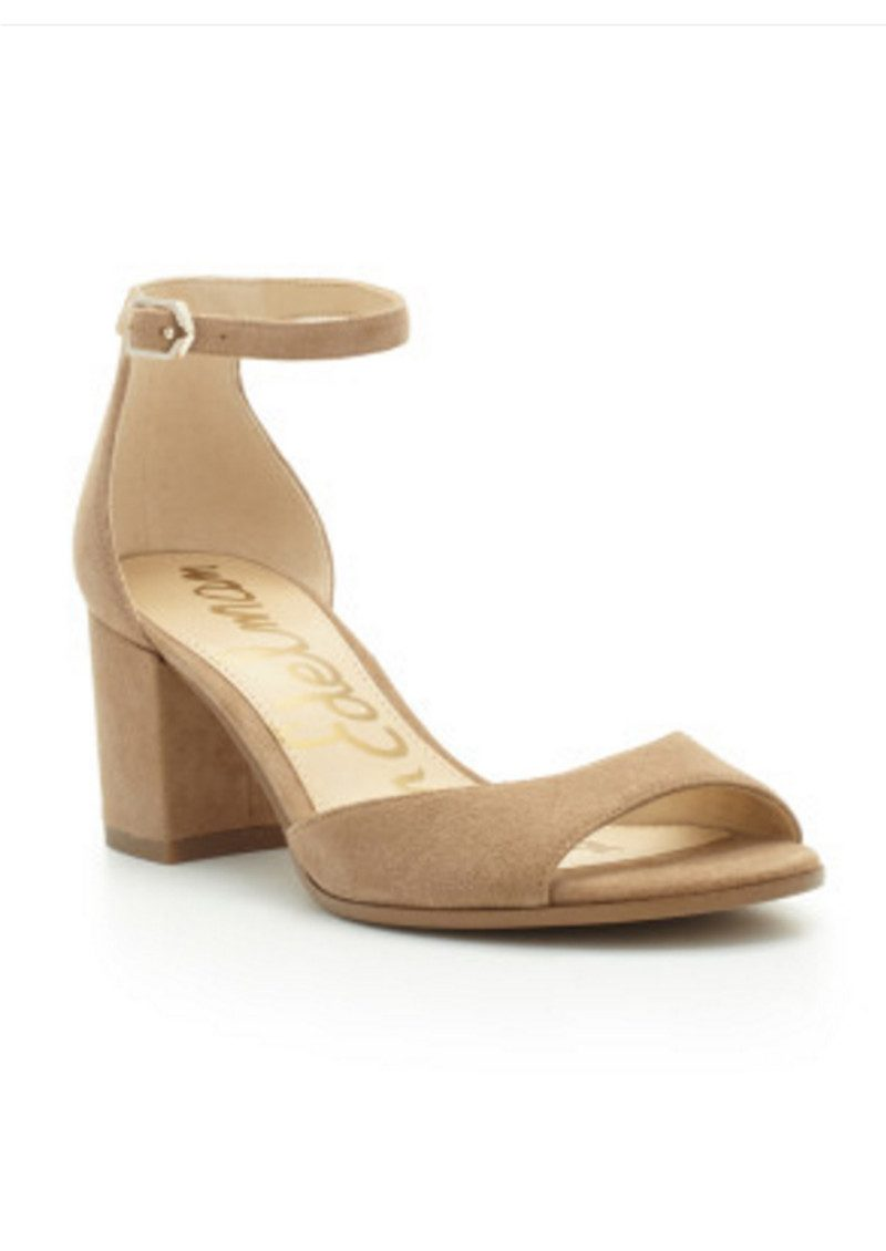Sam Edelman Susie Ankle Strap Sandal - Oatmeal main image