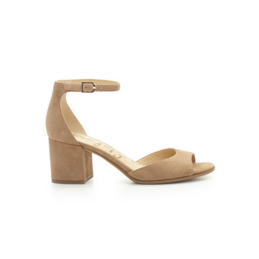 Susie Ankle Strap Sandal - Oatmeal