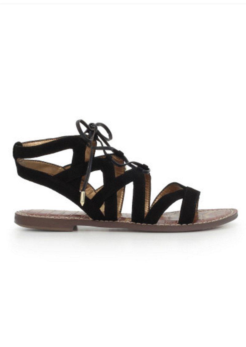 Sam Edelman Gemma Lace Up Gladiator Sandals - Black main image