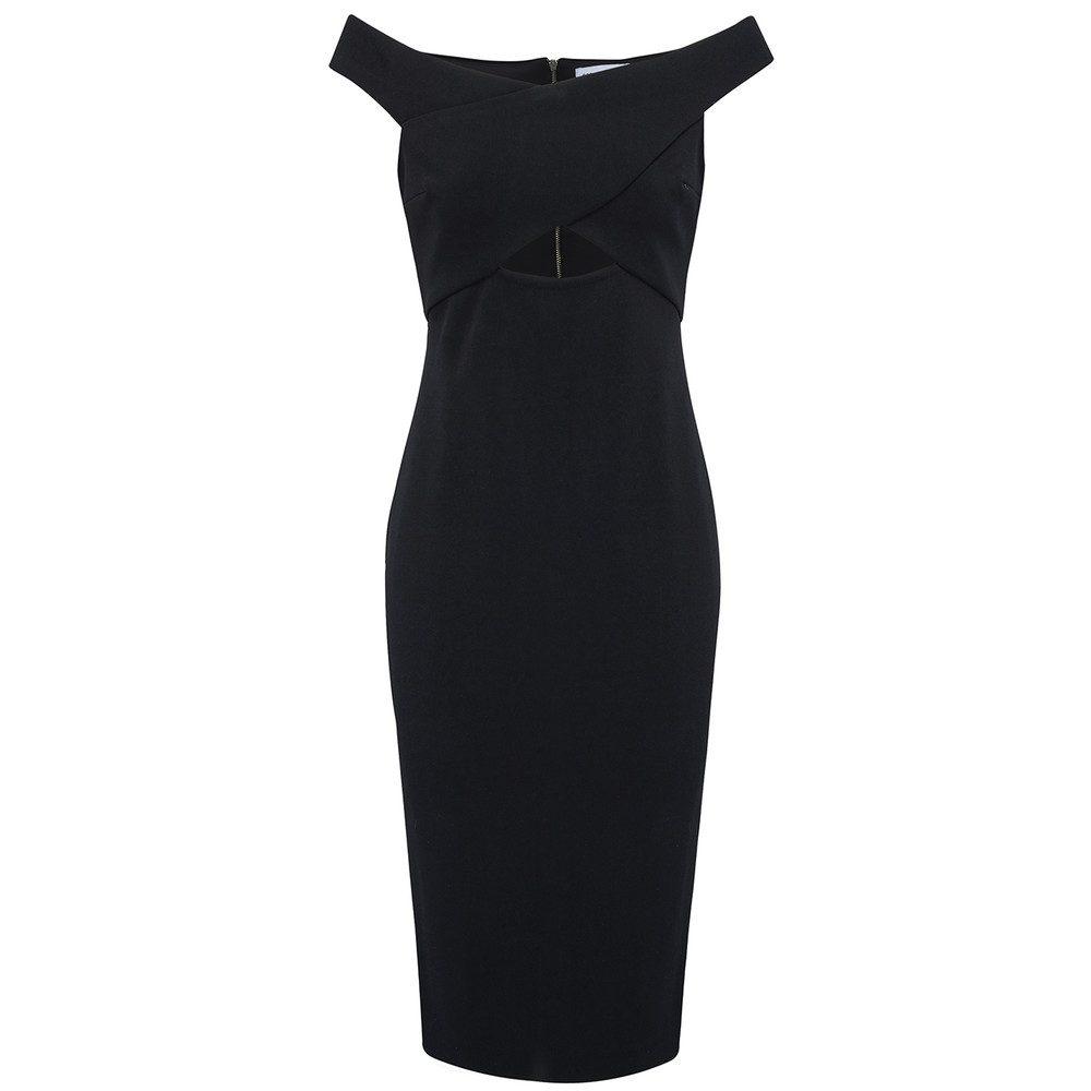 Salt Lake Crossover Dress - Black
