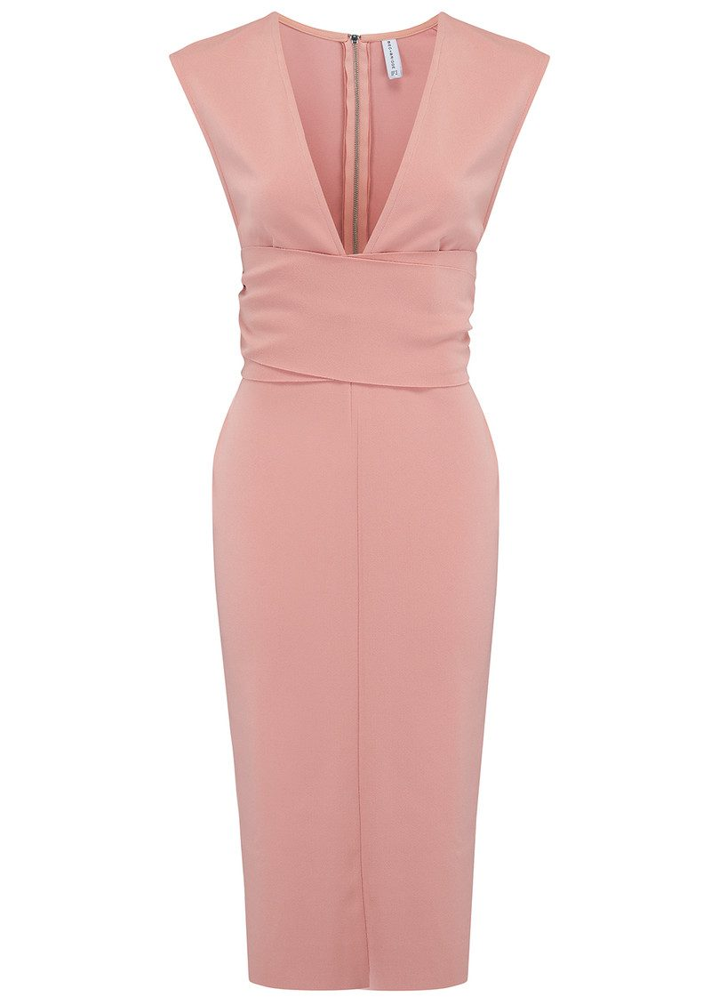 BEC & BRIDGE Salt Lake Wrap Dress - Blush main image