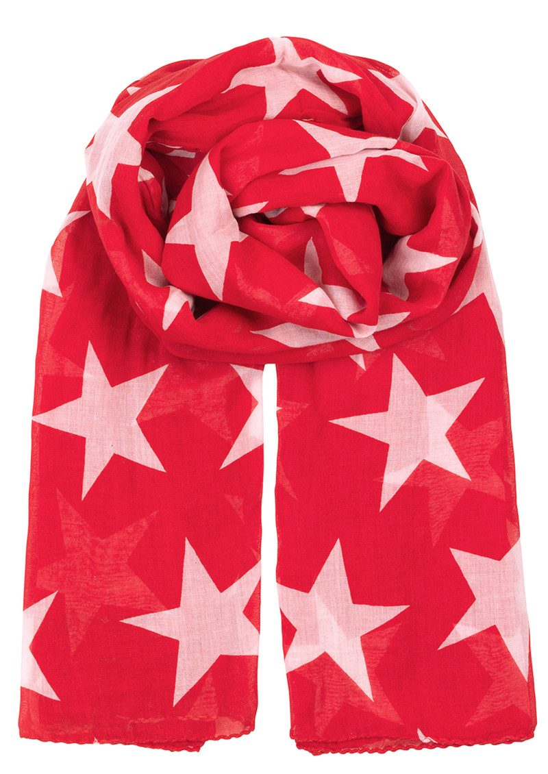 Fine Twilight Scarf - Fiery Red main image